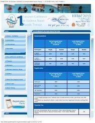 ECEBAT-2013, 1st European Conference on Evidence Based ...