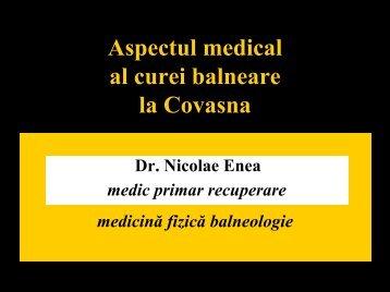 7. Aspectul medical al curei balneare la Covasna /Medical balneary ...