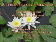 3. Prezentarea activitatii medicale in statiunea Baile Felix / Medical ...