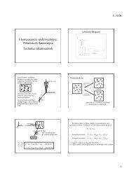 Polarizáció, Anizotrópia Technikai alkalmazások