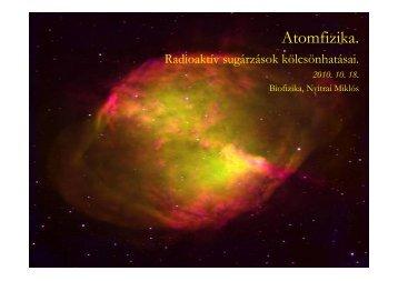 Atomfizika.