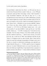 Le « texte caché » racinien: doutes et hypothèses - Unitus DSpace
