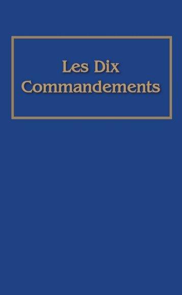 Les Dix Commandements - Le Monde de Demain