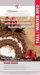 download newsletter in pdf - Alliance Française de Chicago