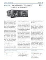 M'ELODIE - Meyer Sound Laboratories Inc.