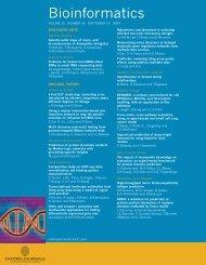 Back Matter (PDF) - Bioinformatics