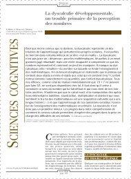 dyscalculie - INSERM-CEA Cognitive Neuroimaging Unit