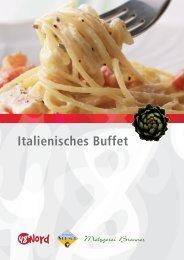 Italienisches Buffet - 48 Grad Nord