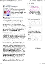 Den Kunden spielend begeistern - business-wissen.de - 4-advice