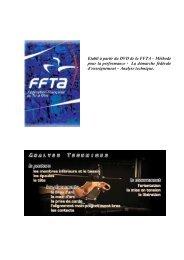 Etabli à partir du DVD de la FFTA – Méthode pour la performance ...