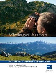 NOUVEAU : télémètre Victory PRF - Carl Zeiss SAS
