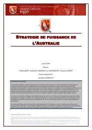 Stratégie de puissance de l'Australie - Base de connaissance AEGE