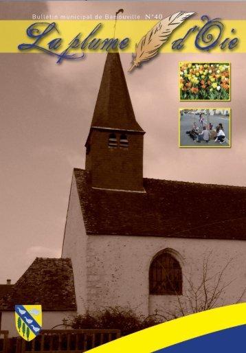 Bulletin Municipal de Barjouville • N° 40 • Site : www.barjouville.fr