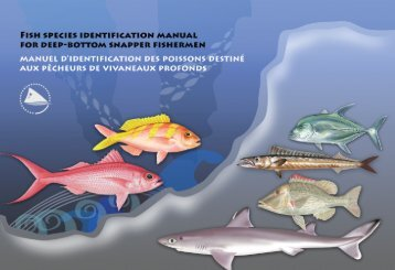 Fish species identification manual for deep-bottom snapper ...