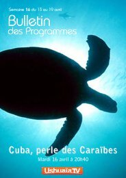 20:40 Cuba, perle des Caraïbes - TF1
