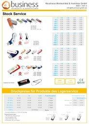 USB Sticks Werbeartikel - 4 Business Werbemittel und Vertriebs ...