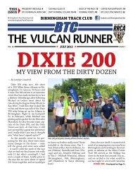 The Vulcan Runner - Birmingham Track Club