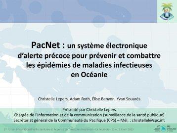 PacNet - Veille Sanitaire et Réponse en Territoires Insulaires