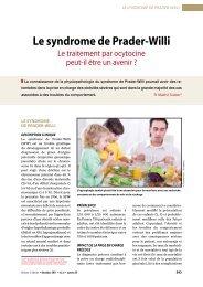 Le traitement par ocytocine peut-il être un avenir - CHU Toulouse