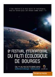 8 festival international film ecolo BOURGES - Foxoo
