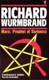 Marx: Prophet of Darkness