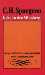 Gehe in den Weinberg!