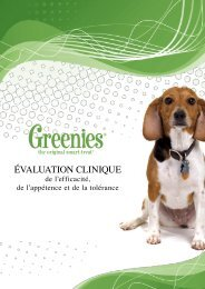 Evaluation clinique - Greenies