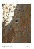 La Gorgette Climbing Guide Wadi Bani Auf - Oman Adventure Sports - Page 7