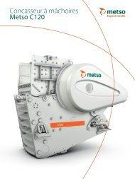 Concasseur à mâchoires Metso C120