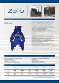 Pince hydraulique Démolition primaire et recyclage du béton ... - Zato - Page 3