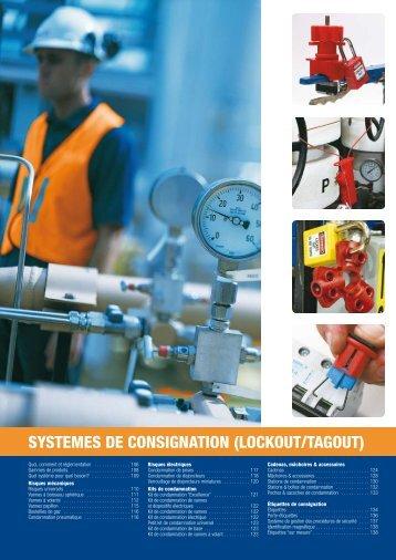 SYSTEMES DE CONSIGNATION (LOCKOUT/TAGOUT) - ecritech metz