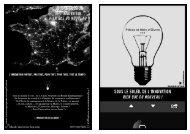 Sous le soleil de l'innovation (brochure A5) - Pièces et Main d'Oeuvre