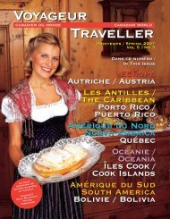 CWT 22 Spring 2007 Issue For Web.qxd - Canadian World Traveller