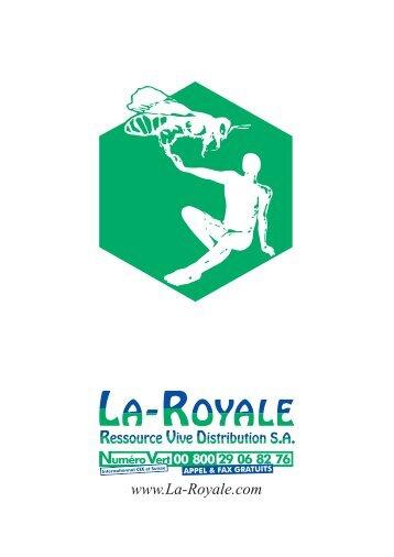 Table des matières - La Royale