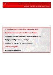 wallis - Etat du Valais