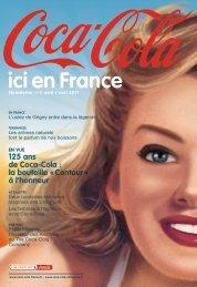 Voir la 5ème édition de la newsletter - Coca-Cola France