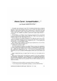Alexis Carrel : la mystification... * - Bibliothèque interuniversitaire de ...