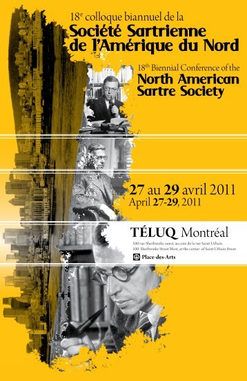 Programme - North American Sartre Society