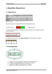 1. Magnetfeld, Magnetismus - black-strom