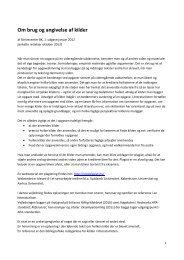 Om brug og angivelse af kilder - Læreruddannelsen Blaagaard/KDAS