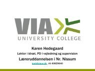 Teaching Lab - Læreruddannelsen Blaagaard/KDAS