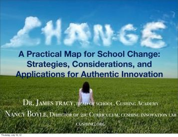 A Practical Map for School Change: Strategies ... - Conference