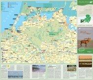 Die Karte direkt als pdf gibt's hier - Urlaub an Ostsee und Seen
