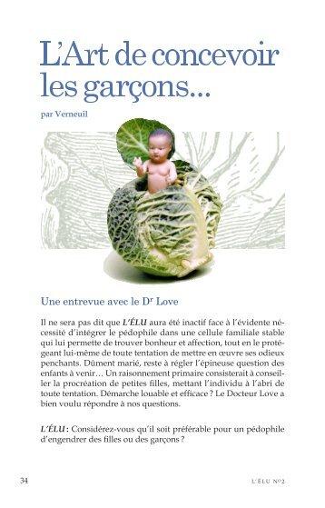 L'ÉLU magazine nº 2 - retour rue des garçons