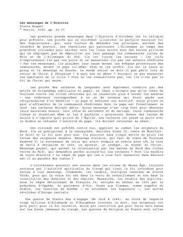 Les mensonges de l'Histoire - François Favre - Mani, Christ d'Orient ...
