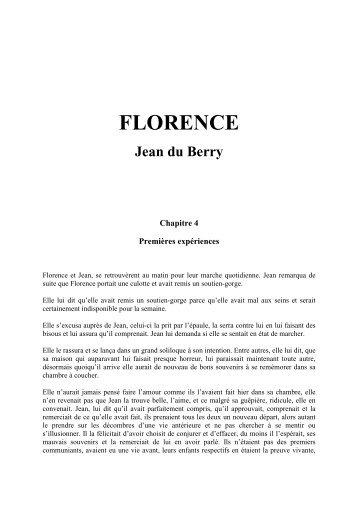 FLORENCE Jean du Berry - Rêves de femme