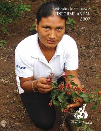 FUNDACION CHARLES DARWIN Informe Anual ... - Blog de ESPOL