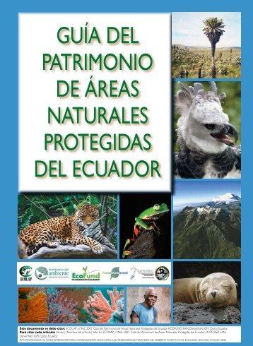 Guía del Patrimonio de Áreas Naturales Protegidas del Ecuador