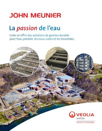 Brochure corporative (pdf - 2.7MB) - John Meunier Inc.