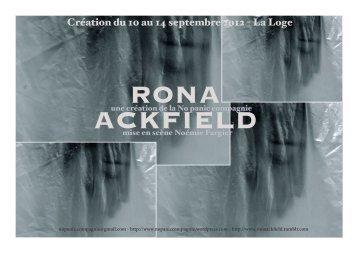 dossierronaackfield - La Loge